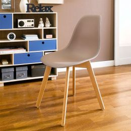 Scandi-Light Brown  Chair
