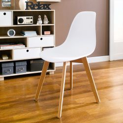 Scandi-White  Chair
