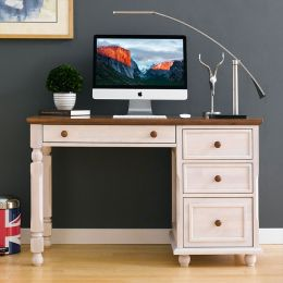 Tara-White-Desk  Wooden Desk