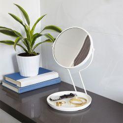 See Me-Wht Vanity Mirror