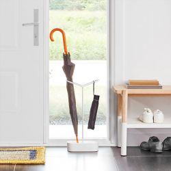 Holdit Stand-White  Umbrella Stand