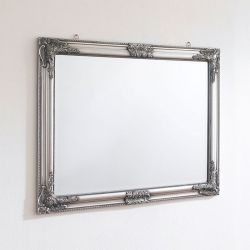 Sanne-Rect-Silver Wall Mirror
