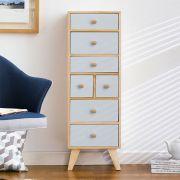 Judy-Blue 7-Dr Storage Cabinet