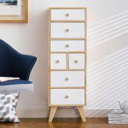 Judy-White 7-Dr Storage Cabinet