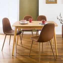 Trade-Lucy-4C  Dining Set  (1 Table + 4 Chairs)