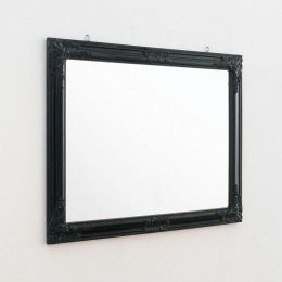 Sanne-Rect-Black  Wall Mirror