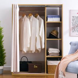 WD-580-RS Hanger Closet w/ Curtain