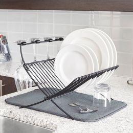 1009253-149 Xdry Rack-Charcoal Dish Rack