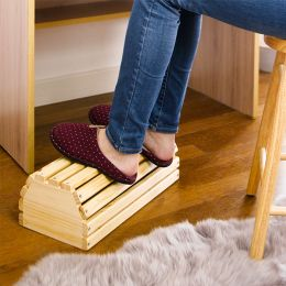 G17-PN022  Wooden Foot Stool
