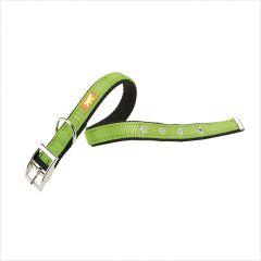 Dual CF15/35-Green  Nylon Collars