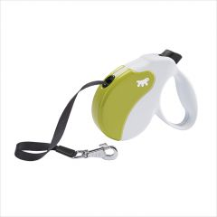 Amigo-MED White-Green  Retractable Leads