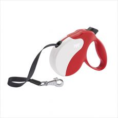 Amigo-MINI Red-White  Retractable Leads