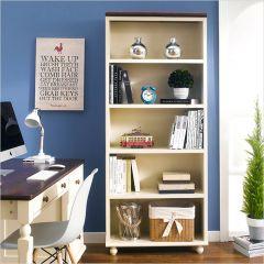 Tara-White-BKC  Wooden Bookcase