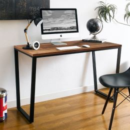 Robe-Black-Aca-Table  Metal Desk
