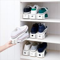 SHW-01-White  Wide Shoe Holder  (2개 포함)