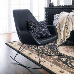 Stockholm-Black  Rocking Chair