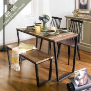 Robe-4-Blk-ACA-1B-2JUL  Dining Set  (23t)