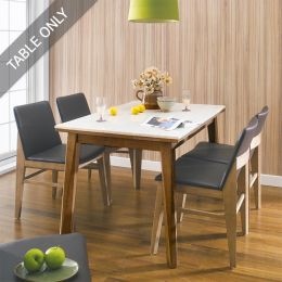 Zodax-4-Walnut-Marble-D  Dining Table (Table Only)