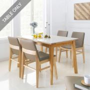 Zodax-4-Natural-Marble-D  Dining Table (Table Only)