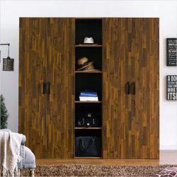 MC-9010-A  Triple Closet
