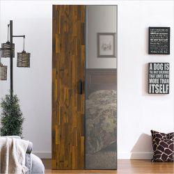 MC-9080  Single Closet w/ Mirror Door