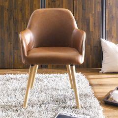 Luna Carver  Accent Chair