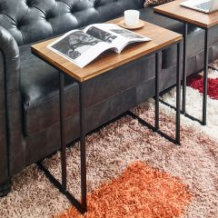 Excel-600-Acacia  Sofa Desk