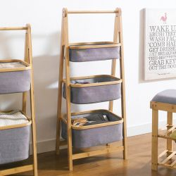 SJ217101  3-Tier Bamboo Storage