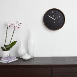 Rimwood-Walnut  Wall Clock