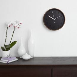 118140-746 Rimwood-Walnut Wall Clock