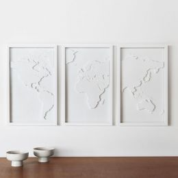 470180-660 Mapster-White Wall Décor