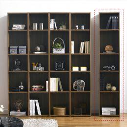 WB-400-Acacia  1-Unit Bookcase