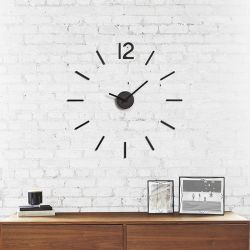 Blink-Black  Wall Clock