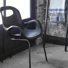 320150-038 OH-Black Chair