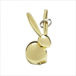Zoola Bunny-Brass  Ring Holder