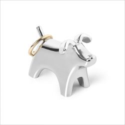 299117-158-M95 Anigram Dog-Chrome Ring Holder