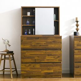 (0)AD-30-Acacia  3-Drawer Chest