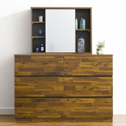 (0)AD-60-Acacia  6-Drawer Chest