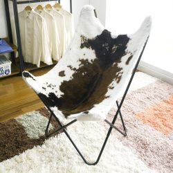 Butterfly Chair-Cowhide  Accent Chair