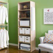 Oak-06  Closet w/ Mirror