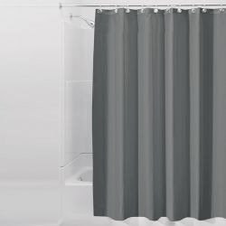 14630ES  Liners Shower Curtain-Charcoal