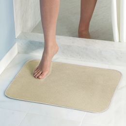 16210ES  iDry Bath Mat-Wheat