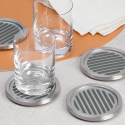20540ES  Forma Linea Costers  (Set of 4)