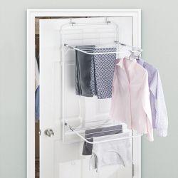 39743ES  Brezio Over Door Laundry Drying Rack