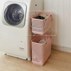LB-11A-PK  Laundry Basket-Medium