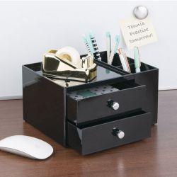 42152ES  Linus Desk Organizer-Black