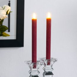 Brandon-Red  LED Candle  (2 Pcs)