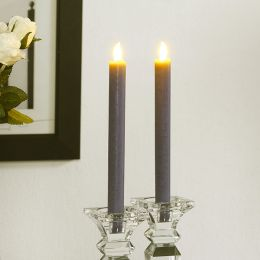 Brandon-Grey  LED Candle  (2 Pcs)