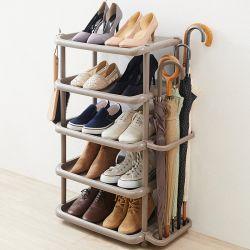 Wide Shoe Rack-BR  Shoe Storage