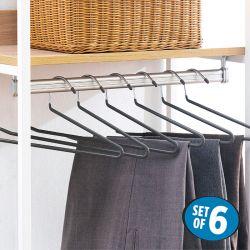 HW5187-Grey  Clothes Hanger (6 Pcs 포함)